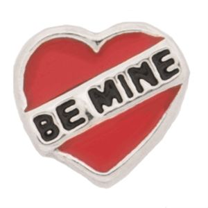 Picture of Be Mine Heart Charm