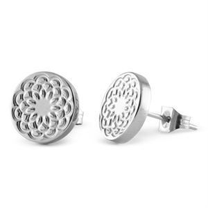 Picture of Silver Flower Studs